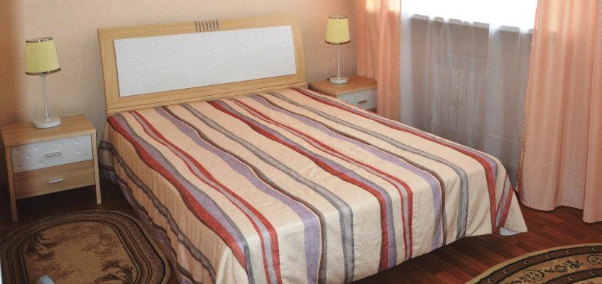 Двухместный двухкомнатный номер люкс, санаторий Океанский, корпус №2