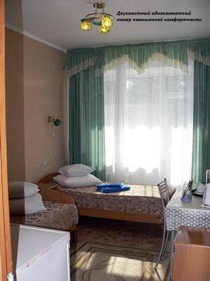 двухместный однокомнатный номер повышенной комфортности санаторий Шмаковский