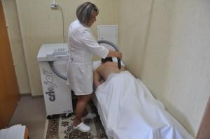 Процедура криотерапии. Аппарат Criojet C 200